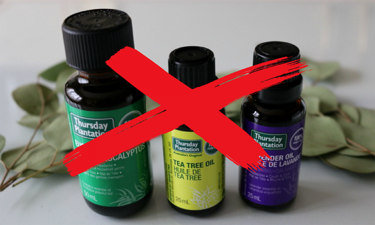 essential oils removed