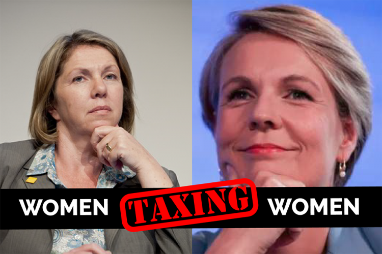 women tax on tampons