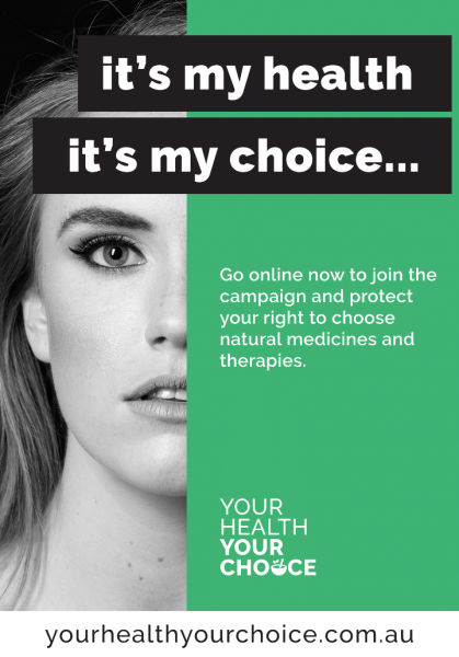 Your Health Your Choice Poster